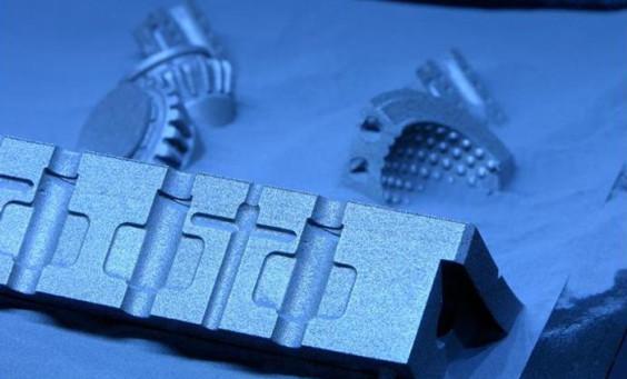 Direct Metal Laser Sintering (DMLS) Prototype Sample Part